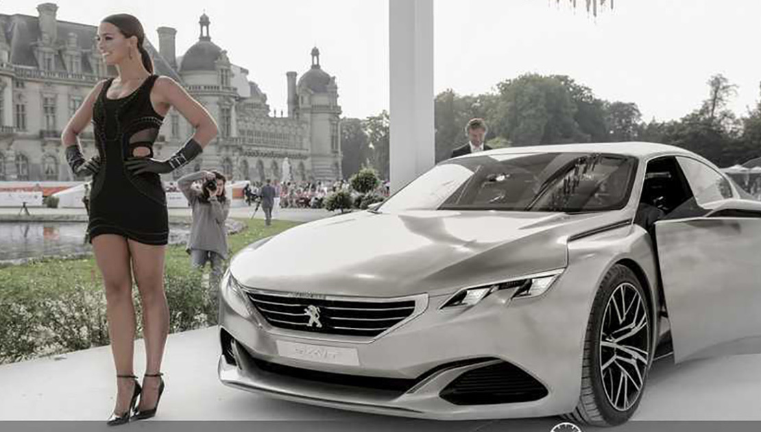 "Concepts car à Chantilly Part 1 : Peugeot ""Exalt"""