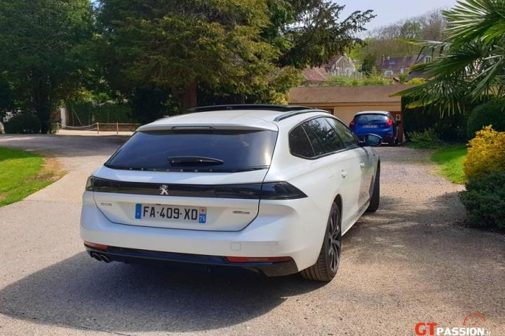Peugeot 508 SW GT parc Presse