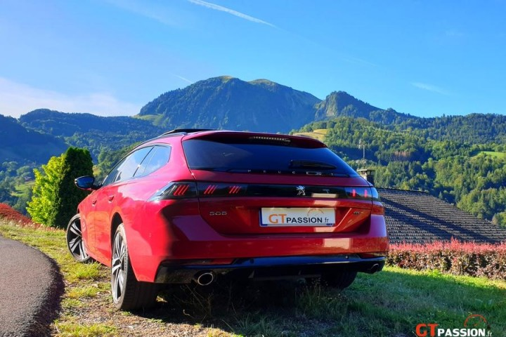 Peugeot 508 SW GT Road Trip Annecy