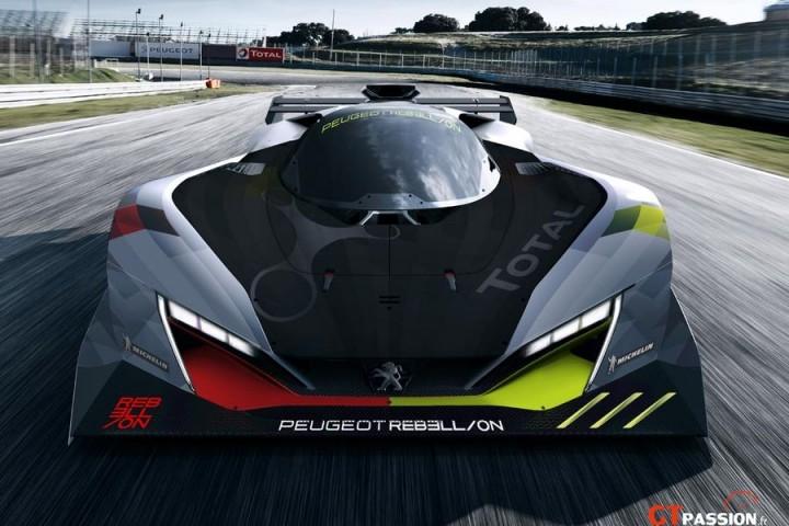 Retour Peugeot Endurance