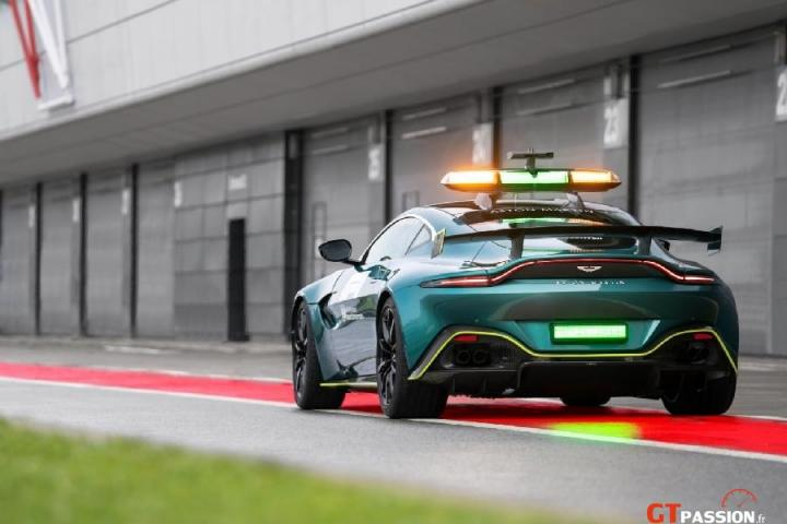 Aston Martin Safety F1 2021